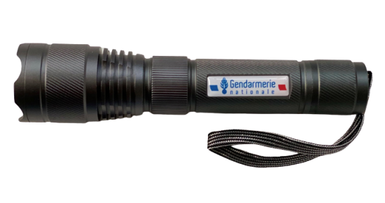 Lampe torche rechargeable - Gendarmerie Nationale